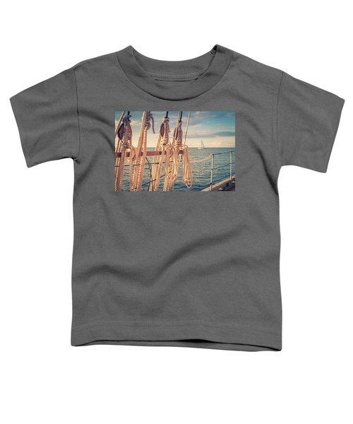 Aboard The Edith M Becker Toddler T-Shirt
