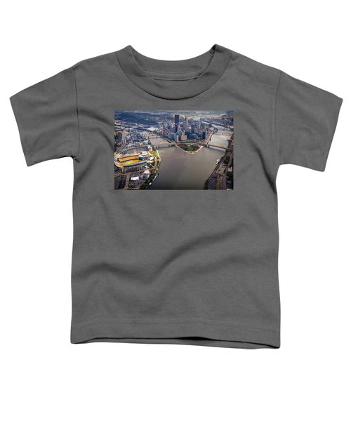 Above Pittsburgh In  Color  Toddler T-Shirt