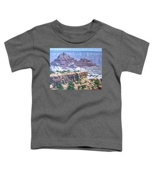 Above The Clouds Grand Canyon Toddler T-Shirt by Jim Thomas