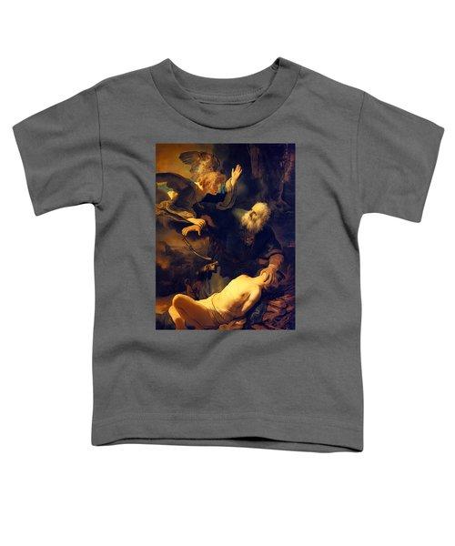 Abraham And Isaac Toddler T-Shirt