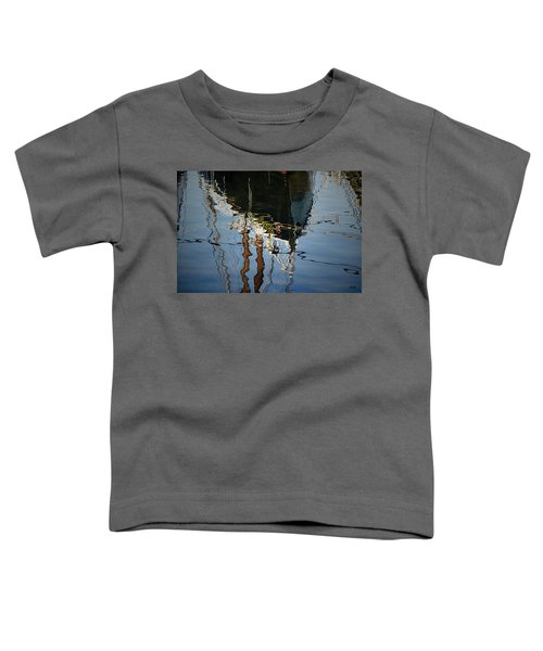 Abstract Boat Reflection IIi Toddler T-Shirt