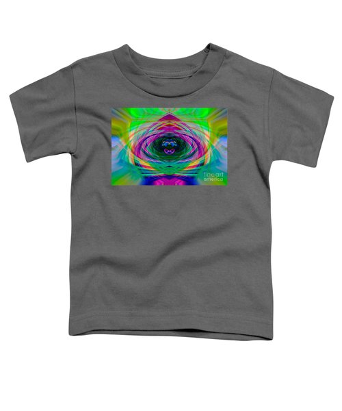 Abstract Catherine Wheel Toddler T-Shirt