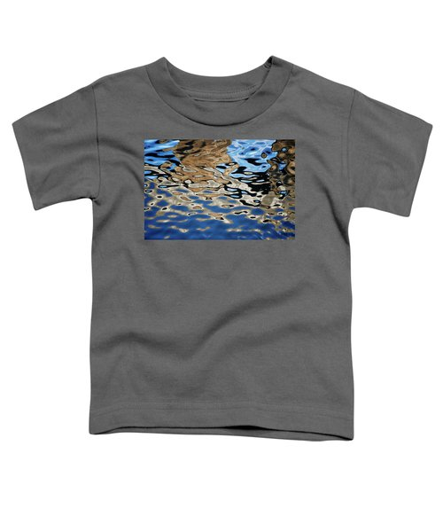 Abstract Dock Reflections I Color Toddler T-Shirt