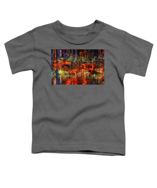 Abstract Evening Toddler T-Shirt