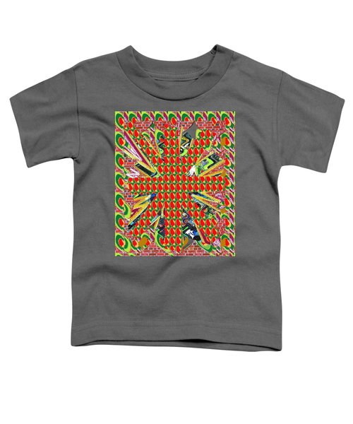 Abstract Flowers Floral Leaf Leaves Colorful Modern Art Navinjoshi Fineartamerica Pixels Toddler T-Shirt