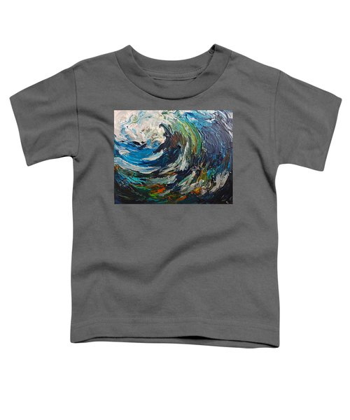 Abstract Wild Wave  Toddler T-Shirt