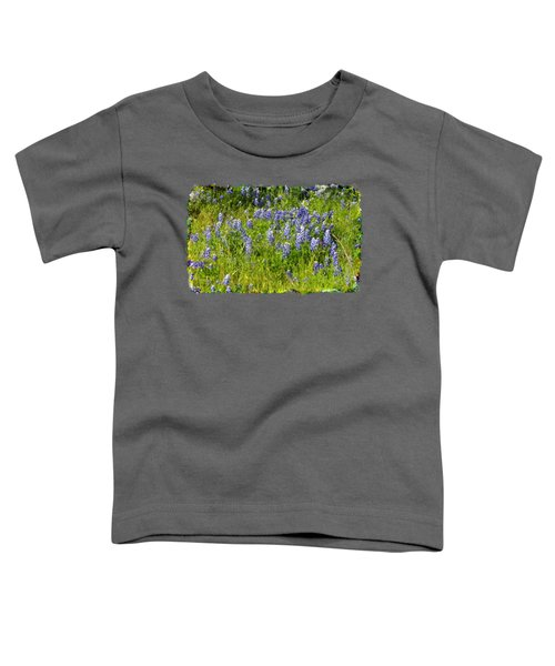 Abundance Of Blue Bonnets Toddler T-Shirt
