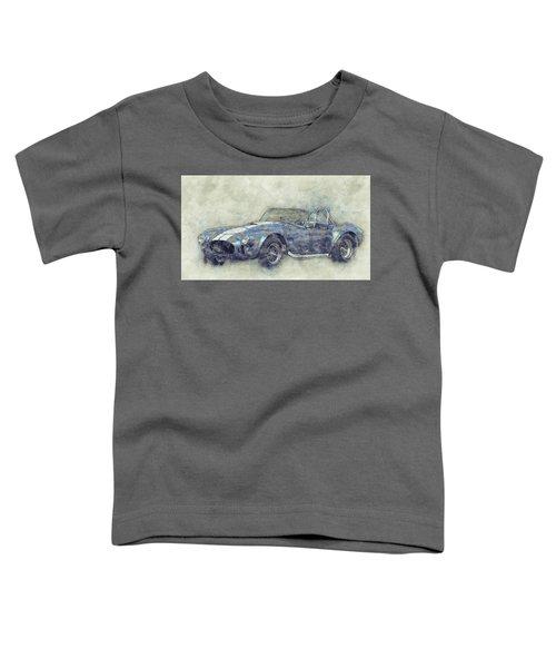 Ac Cobra - Shelby Cobra - 1962s - Automotive Art - Car Posters Toddler T-Shirt