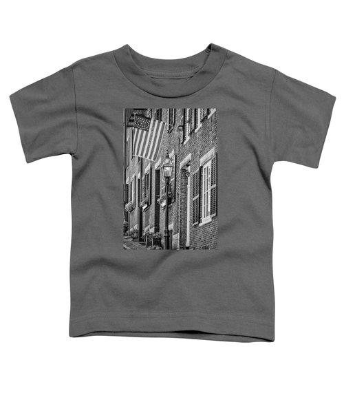 Acorn Street Details Bw Toddler T-Shirt