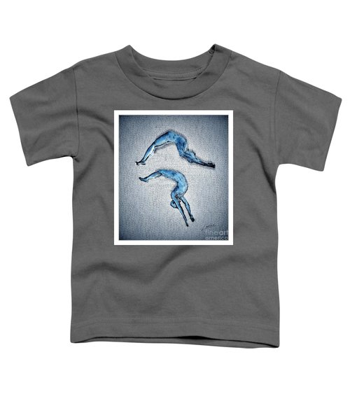 Acrobatic Gesture Toddler T-Shirt