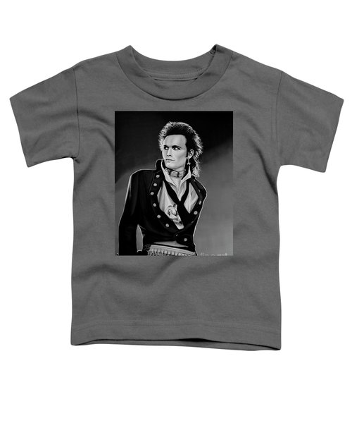 Adam Ant Painting Toddler T-Shirt