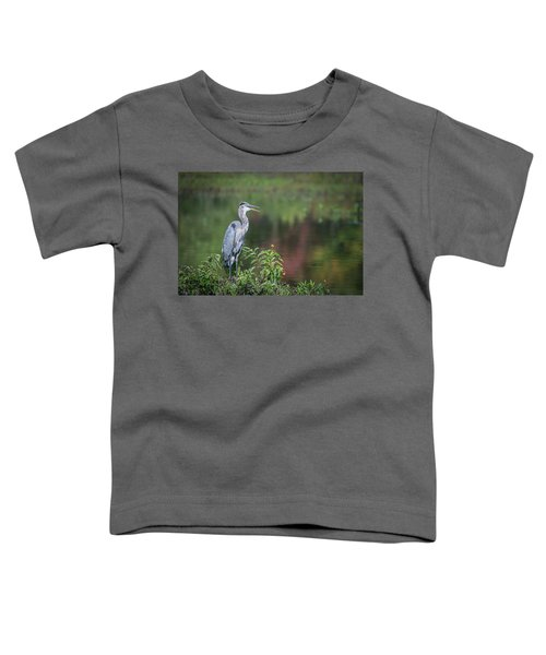 Advice From A Great Blue Heron Toddler T-Shirt