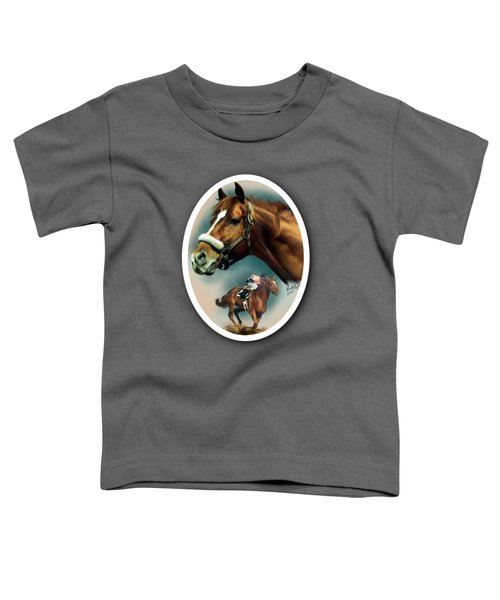Affirmed With Name Decor Toddler T-Shirt
