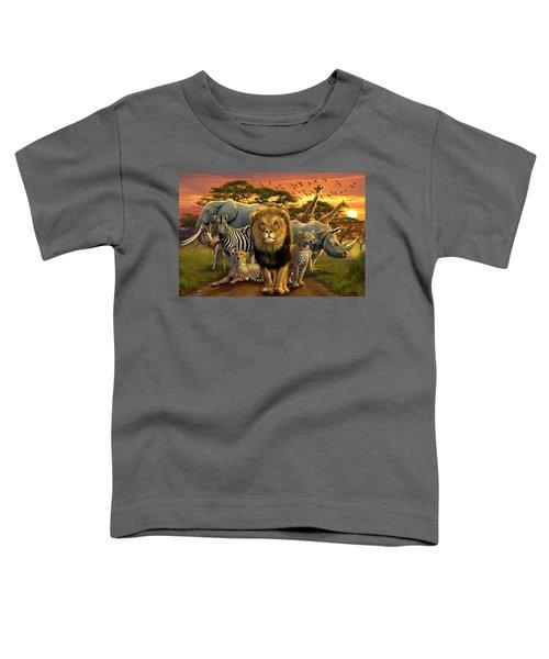 African Beasts Toddler T-Shirt