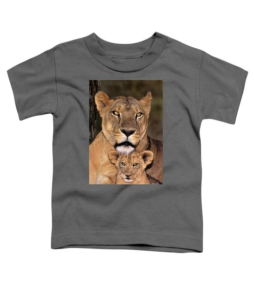 African Lions Parenthood Wildlife Rescue Toddler T-Shirt
