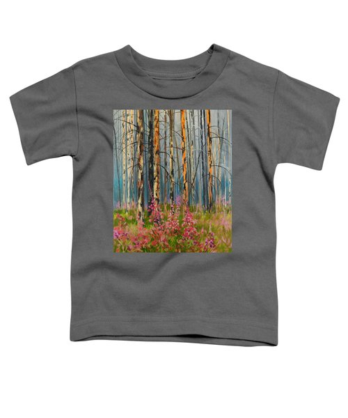 After Forest Fire Toddler T-Shirt