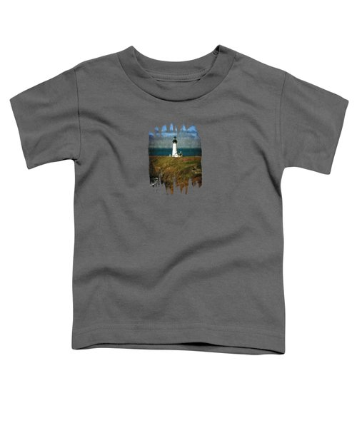 Afternoon At The Yaquina Head Lighthouse Toddler T-Shirt