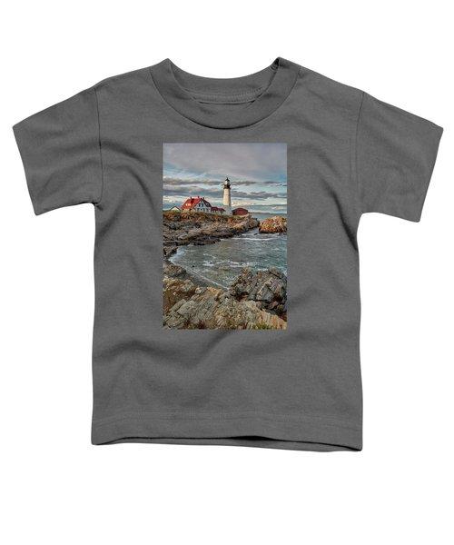 Afternoon Light At Cape Neddick Toddler T-Shirt