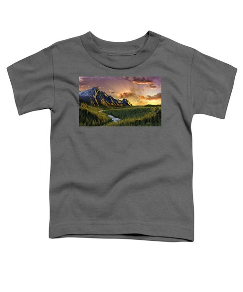 Against The Twilight Sky Toddler T-Shirt