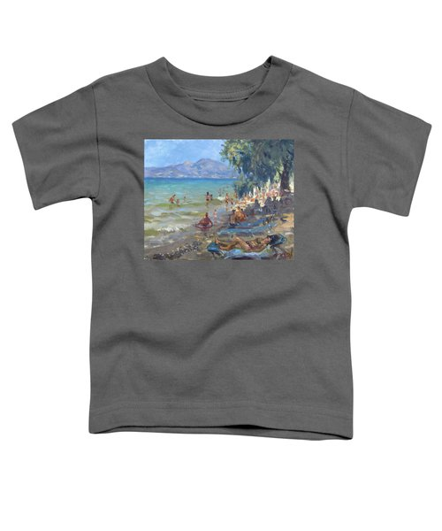 Agrilesa Beach Athens  Toddler T-Shirt