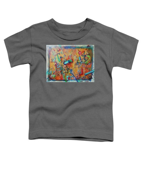 Digital Landscape, Airbrush 1 Toddler T-Shirt
