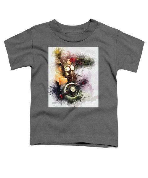 Aircraft Girl Toddler T-Shirt
