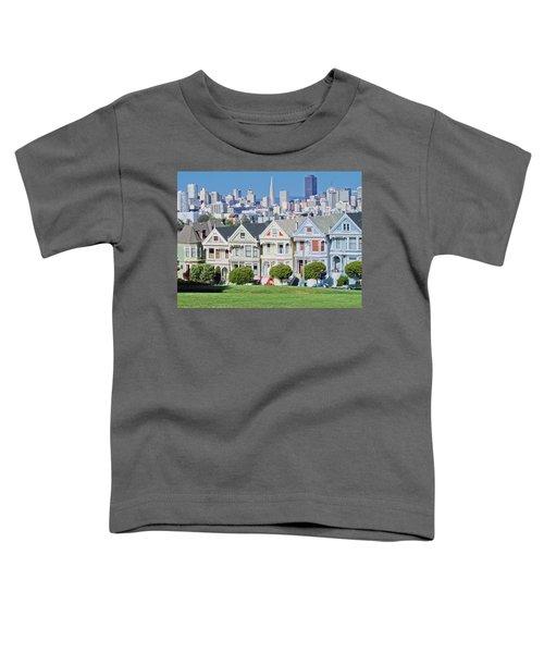 Alamo Square Toddler T-Shirt