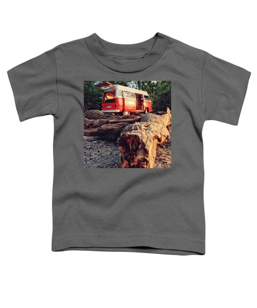 Alani By The River Toddler T-Shirt by Andrew Weills
