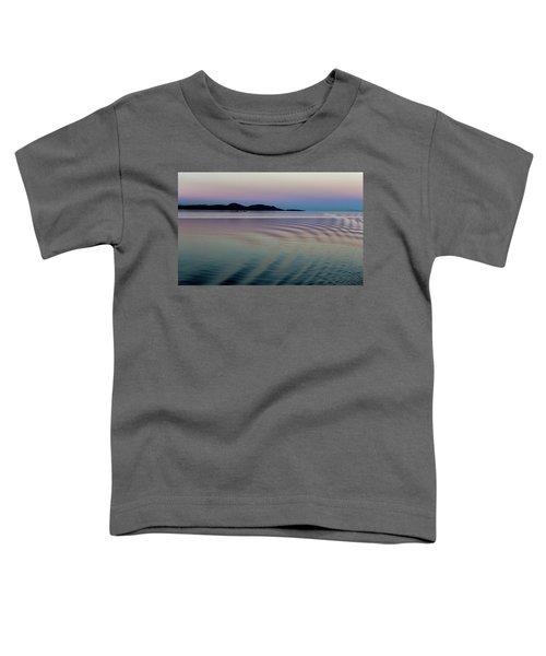 Alaskan Sunset At Sea Toddler T-Shirt