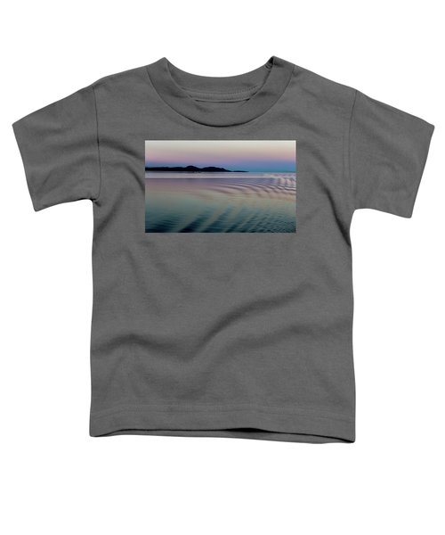 Alaskan Sunset At Sea Toddler T-Shirt