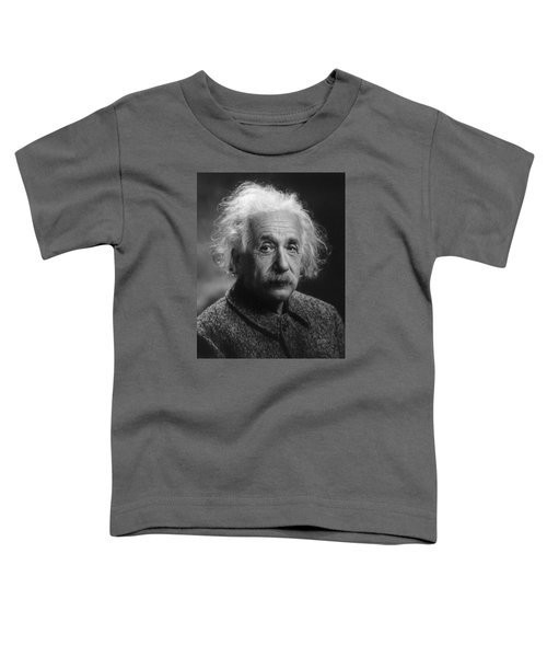 Albert Einstein, 1947. Age 68. Toddler T-Shirt