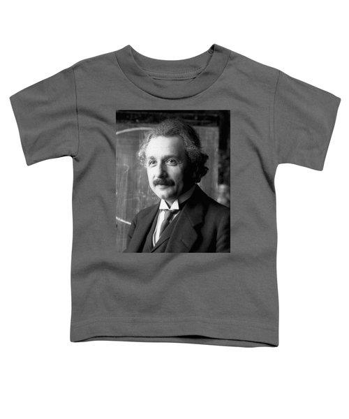 Albert Einstein Nel 1921 Toddler T-Shirt