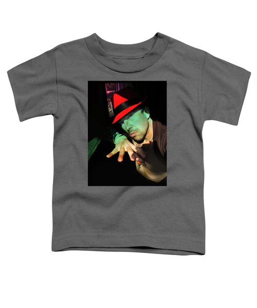 Alien Hat Toddler T-Shirt