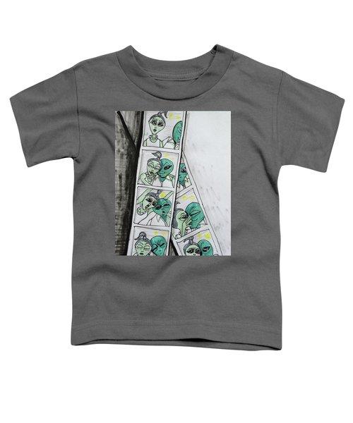 alien Photo Booth  Toddler T-Shirt