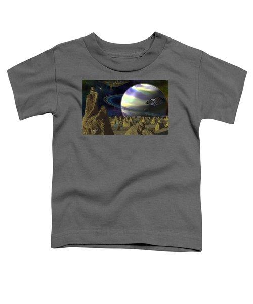 Alien Repose Toddler T-Shirt