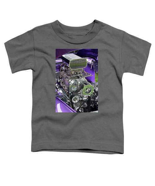 All Chromed Engine With Blower Toddler T-Shirt