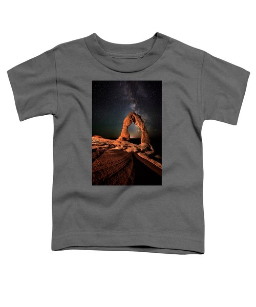 All Lines Lead To Delicate Arch Toddler T-Shirt