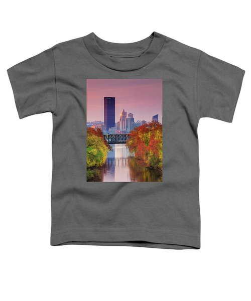 All Pittsburgh Pink  Toddler T-Shirt