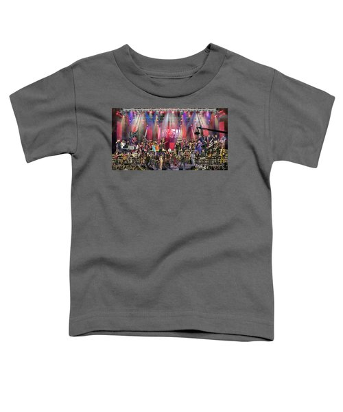All Star Jam Toddler T-Shirt by Don Olea