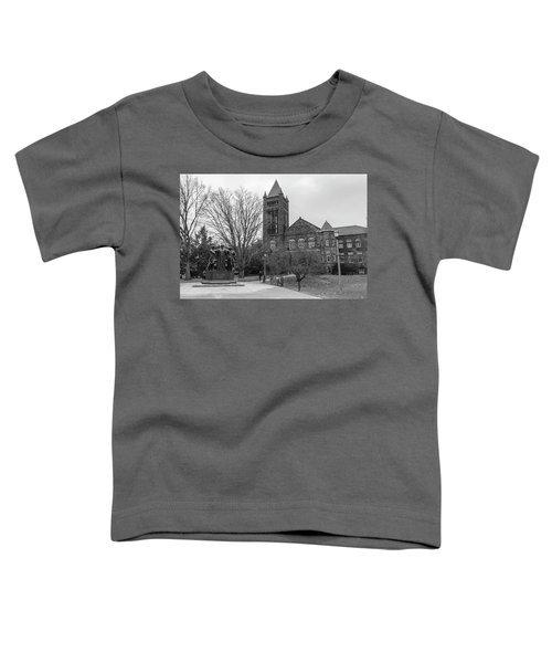 Alma Mater And Law Library University Of Illinois  Toddler T-Shirt