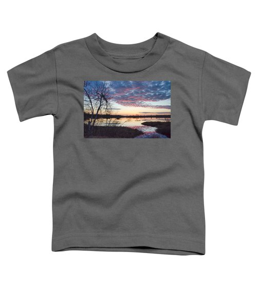 Almost Spring Sunset Toddler T-Shirt