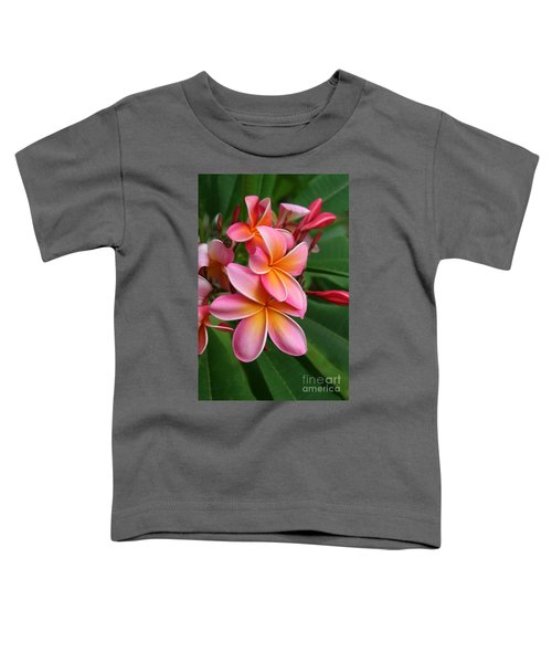 Aloha Lei Pua Melia Keanae Toddler T-Shirt