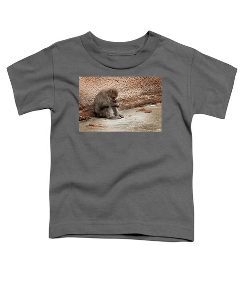 Alone With My Bread Crumbs Toddler T-Shirt