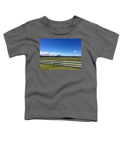 Along The Fence Line Toddler T-Shirt