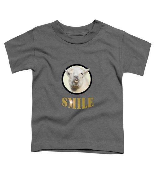 Alpaca Smile  Toddler T-Shirt