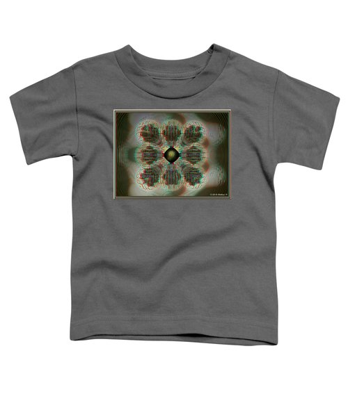 Alpha Waves - View With Red-cyan 3d Glasses Toddler T-Shirt