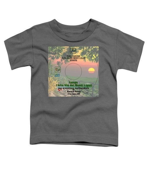 Alta Via Dei Monti Liguri Cd Cover Toddler T-Shirt
