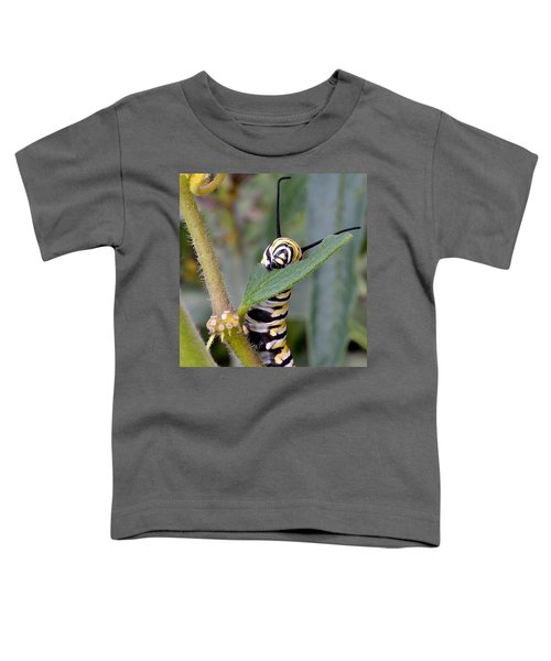 Toddler T-Shirt featuring the photograph Always Eat Your Greens by Andrea Platt