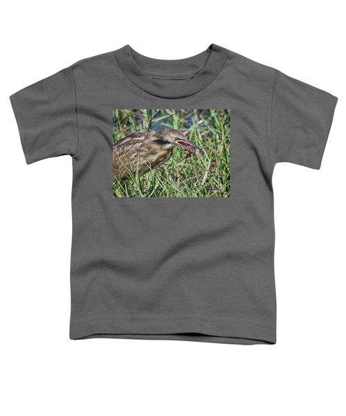 Am Bittern And Crayfish Toddler T-Shirt