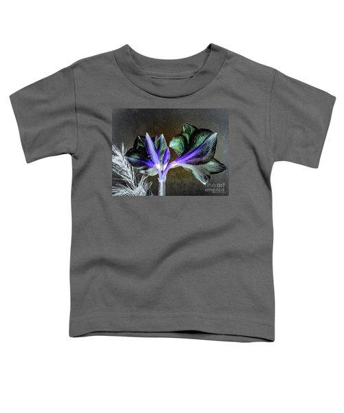 Amaryllis Belladonna Lily Buds Toddler T-Shirt